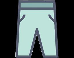 Pantalones para bebé por tallas