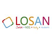 Ropa de bebé de Losan por tallas